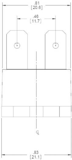 Crydom EL240A10-05 Halfgeleiderrelais 1 stuks Laadstroom (max.): 10 A Schakelspanning (max.): 280 V/AC Schakelend bij ov