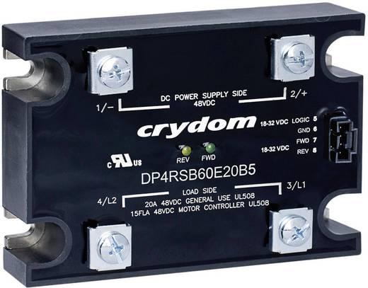 Halfgeleiderbeveiliging voor hoge stroomsterkten DP-serie Crydom DP4R60D20 Belastingsstroom 20 A Schakelspanning 48 V/DC
