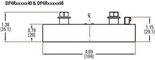 Halfgeleiderbeveiliging voor hoge stroomsterkten DP-serie Crydom DP4R60D60 Belastingsstroom 60 A Schakelspanning 48 V/DC