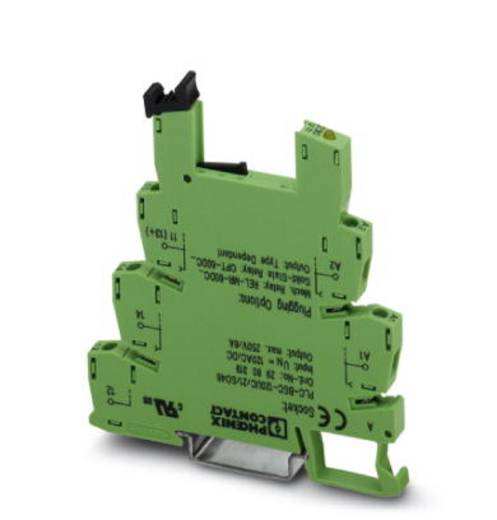 Phoenix Contact PLC-BSC-120UC/21/SO46 Relaissocket 10 stuks Phoenix Contact REL-MR-60DC/21AU, Phoenix Contact REL-MR-6