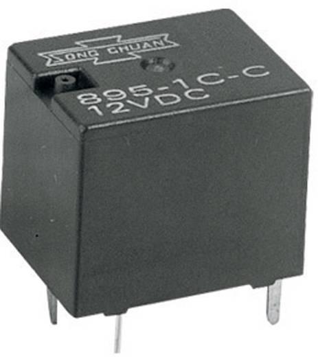 Auto-relais 12 V/DC 6 A 2x NO Song Chuan 895-2AC 12V DC