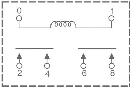 Zettler Electronics AZ2704-2A-12DTWF Printrelais 12 V/DC 30 A 2x NO 1 stuks