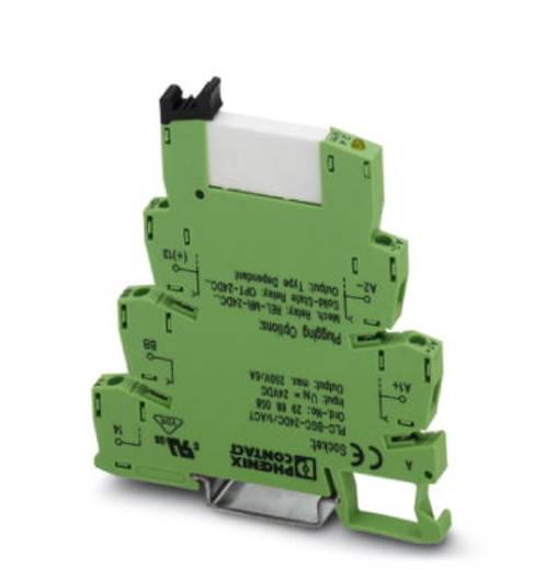 Interfacerelais 10 stuks 24 V/DC 6 A 1x NO Phoenix Contact PLC-RSP- 24DC/ 1/ACT