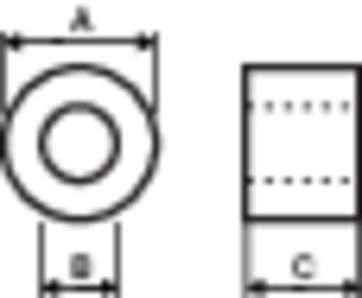Ferrietkern, ring 43 Ω Kabel-Ø (max.) 5 mm (Ø) 9.5 mm Richco RT095-050-050-A5 1 stuks