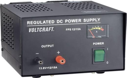 VOLTCRAFT FSP-11312 Labvoeding, vaste spanning 13.8 V/DC 12 A 165 W Aantal uitgangen 1 x