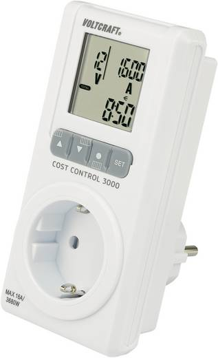 Energiekostenmeterset VOLTCRAFT E-SPAR-SET 100 Verlicht display