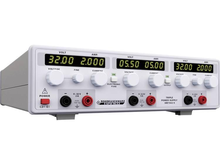 Rohde Schwarz HM7042 5 Labvoeding regelbaar 0 32 V DC 0 2 A 156 W Aantal
