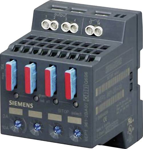 Siemens SITOP SELECT 4 x 10A Din-rail netvoeding 24 V/DC 10 A 4 x