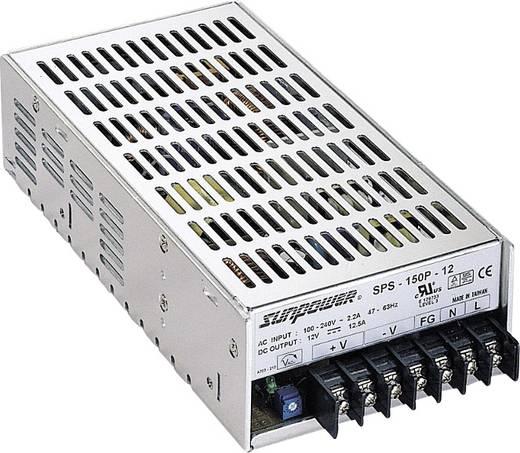 SunPower SPS 150P-15 AC/DC inbouwnetvoeding 15 V/DC 10 A 150 W