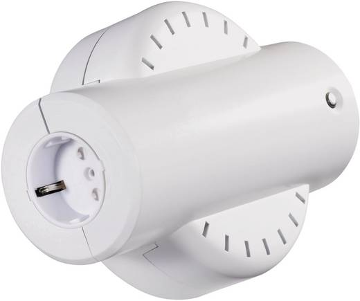 VOLTCRAFT IVC 115/230 spanningsomvormer 115 V naar 230 V / 80 Watt