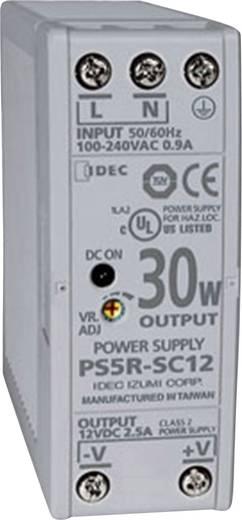 Idec PS5R-SC12 Din-rail netvoeding 12 V/DC 2.5 A 30 W 1 x