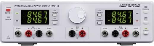 Labvoeding, regelbaar Rohde & Schwarz HM8143 0 - 30 V/DC 0 - 2 A 130 W USB, RS232 Programmeerbaar Aantal uitgangen 3 x