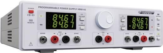 Rohde & Schwarz HM8143 Labvoeding, regelbaar 0 - 30 V/DC 0 - 2 A 130 W USB, RS232 Programmeerbaar Aantal uitgangen 3 x