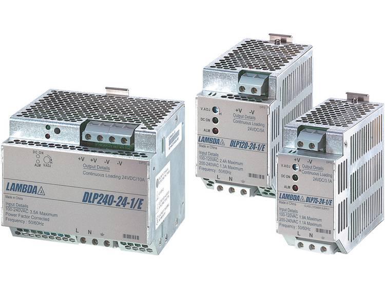 TDK-Lambda DLP-180-24-1/E Din-rail netvoeding 24 V/DC 7.5 A 180 W 1 x