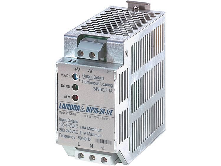 TDK-Lambda DLP-75-24-1/E DIN-rail netvoeding 24 V/DC 3.1 A 75 W 1 x