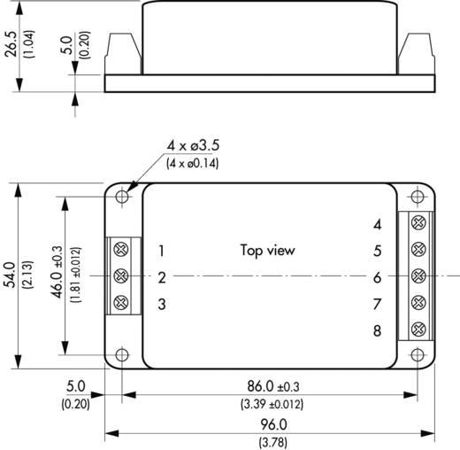 TracoPower TML 15112C AC/DC printnetvoeding 12 V/DC 1.25 A 15 W