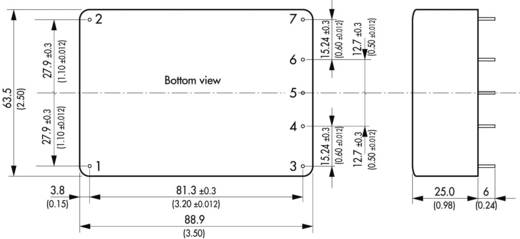 TracoPower TML 30105 AC/DC printnetvoeding 5 V/DC 6 A 30 W