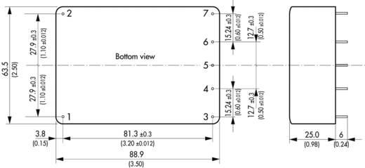 TracoPower TML 30124 AC/DC printnetvoeding 24 V/DC 1.25 A 30 W