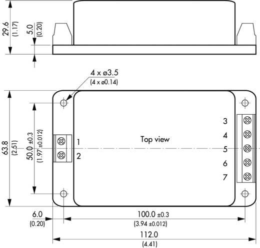 TracoPower TML 30212C AC/DC printnetvoeding 12 V/DC 1.3 A 30 W