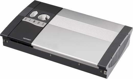 VOLTCRAFT SW-1200 24V Omvormer 1200 W 24 V/DC 24 V/DC Afstandbedienbaar Schroefklemmen 1x Euro-contactdoos, Randaarde co