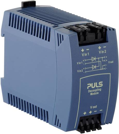 PULS MLY02.100 Din-rail redundantie module 10 A Aantal uitgangen: 1 x