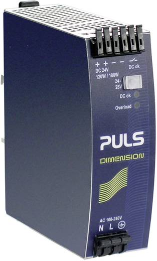 PULS DIMENSION QS5.241 Din-rail netvoeding 24 V/DC 5 A 120 W 1 x
