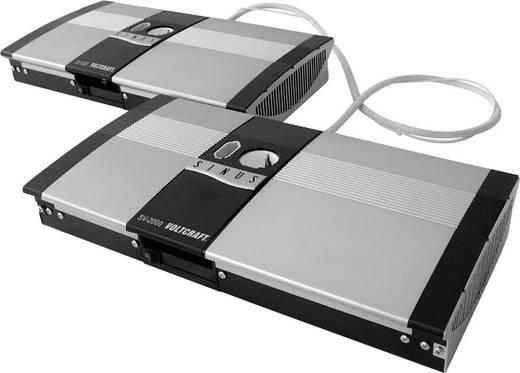 VOLTCRAFT SW-4000 12V Omvormer 4000 W 12 V/DC 12 V= Afstandbedienbaar Schroefklemmen 1x Euro-contactdoos, Geaarde stekke