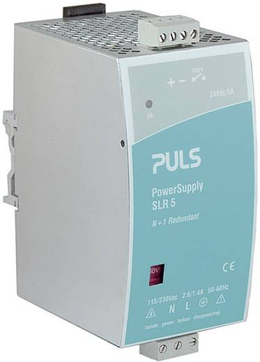 PULS SilverLine SLR5.100 Din-rail netvoeding 24 V/DC 5 A 120 W 1 x