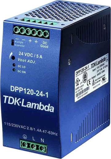 TDK-Lambda DPP-120-24-1 Din-rail netvoeding 24 V/DC 5 A 120 W 1 x