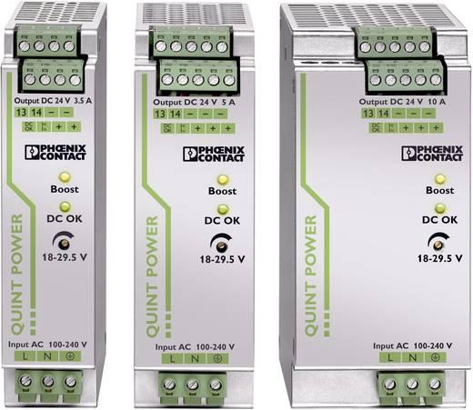 Phoenix Contact QUINT-PS/1AC/24DC/3,5 Din-rail netvoeding 24 V/DC 3.5 A 84 W 1 x
