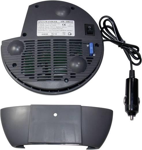VOLTCRAFT SW-100 12V Omvormer 100 W 12 V/DC 11 - 15 V/DC Zonder ventilatie Sigarettenaanstekerstekker