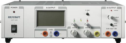 Labvoeding, regelbaar VOLTCRAFT VSP 1410 0.1 - 40 V/DC 0 - 10 A 409 W Aantal uitgangen 2 x