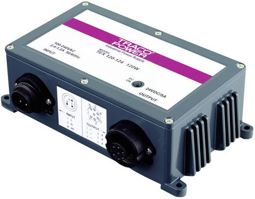 TracoPower TEX 120-124 AC/DC inbouwnetvoeding 28 V/DC 5 A 120 W
