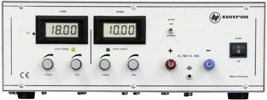 Statron 3250.0 Labvoeding, regelbaar 0 - 18 V/DC 0 - 10 A 180 W Aantal uitgangen 1 x