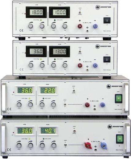 Statron 3254.1 Labvoeding, regelbaar 0 - 36 V/DC 0 - 22 A 792 W Aantal uitgangen 1 x