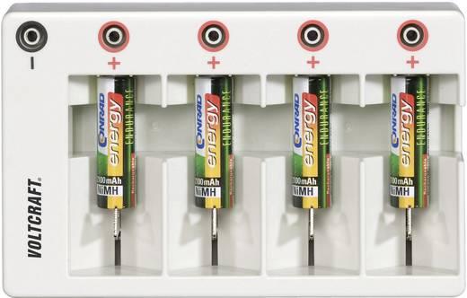 VOLTCRAFT Laadadapter voor rondcelbatterijen 201004 Laadsch