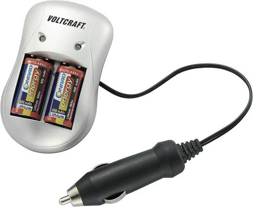 VOLTCRAFT P-76 Batterijlader Li-ion Incl. oplaadbare batterijen CR-123A