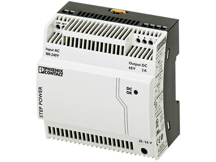 Phoenix Contact STEP PS 1AC 48DC 2 Din rail netvoeding 48 V DC 2 A 96 W 1 x