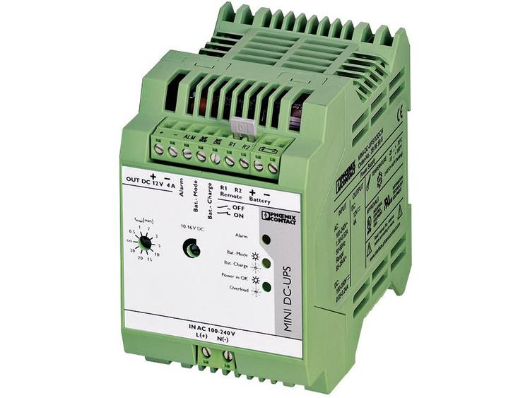 DIN-rail UPS Phoenix Contact MINI-DC-UPS/12DC/4