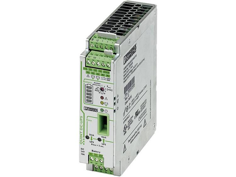 DIN-rail UPS Phoenix Contact QUINT-UPS/ 24DC/ 24DC/10