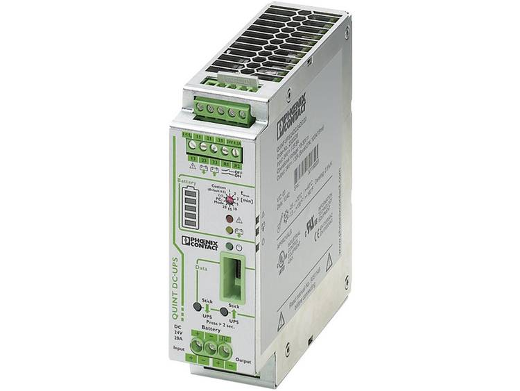 DIN-rail UPS Phoenix Contact QUINT-UPS/ 24DC/ 24DC/20