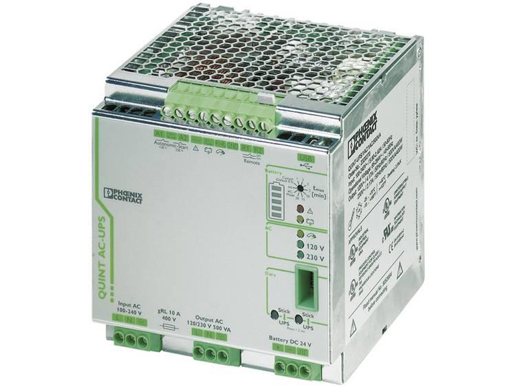 DIN-rail UPS Phoenix Contact QUINT-UPS/ 1AC/1AC/500VA