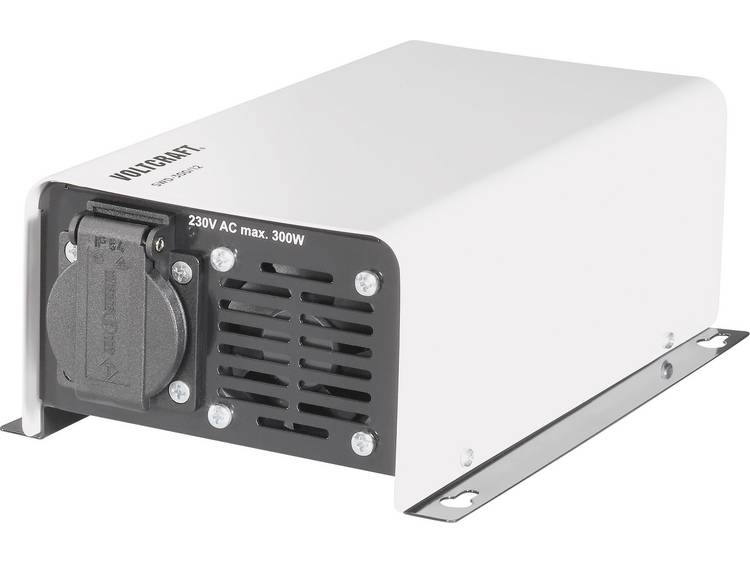 Omvormer VOLTCRAFT SWD-300-12 300 W 12 V-DC 12 V-DC Afstandbedienbaar Schroefklemmen Geaarde contact