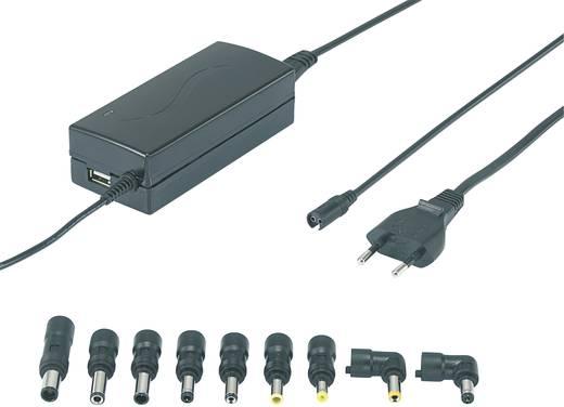 Laptop netvoeding VOLTCRAFT NPS-65 USB 63 W 9.5 V/DC, 12 V/DC, 15 V/DC, 18 V/DC, 19 V/DC, 20 V/DC 4.5 A