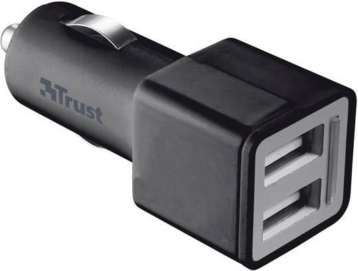 Trust 19171 USB-oplader (Autolader) Uitgangsstroom (max.) 2100 mA 2 x USB