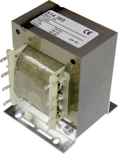 elma TT IZ 68 Universele nettransformator 1 x 230 V 1 x 7.5 V/AC, 9.5 V/AC, 12 V/AC, 14 V/AC, 16 V/AC, 18 V/AC 90 VA 5 A