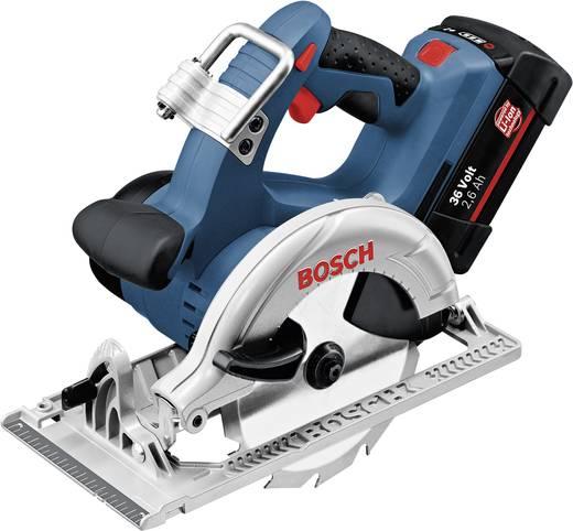 Bosch Professional GKS 36 V-LI Accu-cirkelzaag 165 mm incl. 2 accu's, incl. koffer 36 V