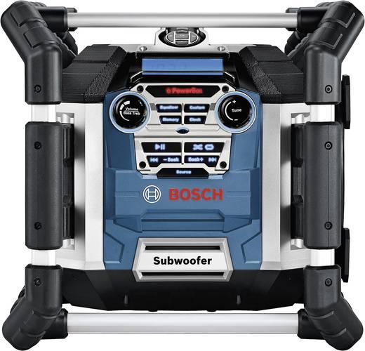 Bosch Professional GML 50 FM Bouwradio Blauw, Zwart