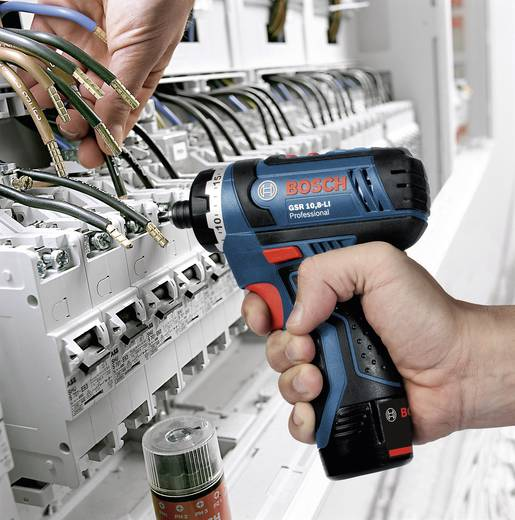 Accuboormachine Bosch GSR 10,8-LI zonder accu 10.8 V Li-ion