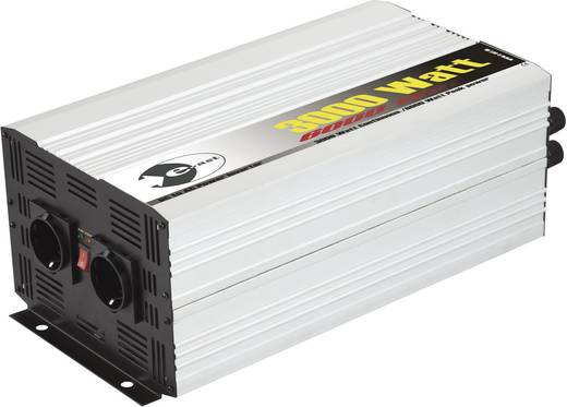 e-ast HPL 3000-12 Omvormer 3000 W 12 V/DC 12 V/DC (11 - 15 V) Schroefklemmen Geaarde stekkerdoos